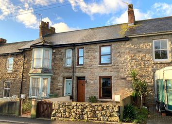 Thumbnail 3 bed terraced house for sale in Poltair Terrace, Heamoor, Penzance, Cornwall.