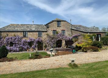 Thumbnail 5 bed detached house for sale in Hobbacott Mill & The Round House, Marhamchurch, Bude
