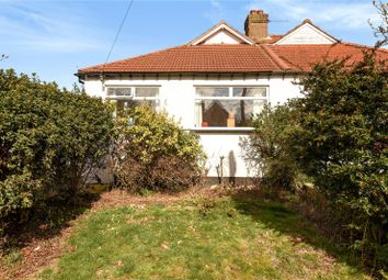 Thumbnail 3 bed semi-detached bungalow for sale in Lyndhurst Avenue, Pinner, Middlesex