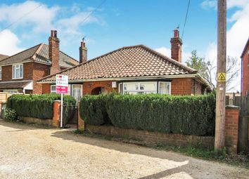 Thumbnail 3 bed detached bungalow for sale in Gladstone Road, Fakenham