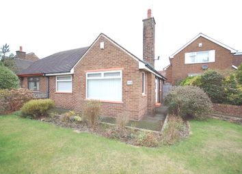 Thumbnail 2 bed semi-detached bungalow to rent in Poulton Road, Blackpool, Lancashire