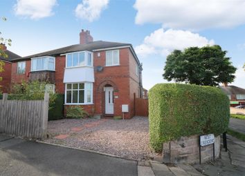 Thumbnail 3 bedroom semi-detached house for sale in West Crescent, Sneyd Green, Stoke-On-Trent