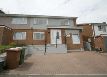 Thumbnail 4 bed semi-detached house for sale in 28 Erlstoke Close, Eggbuckland, Plymouth