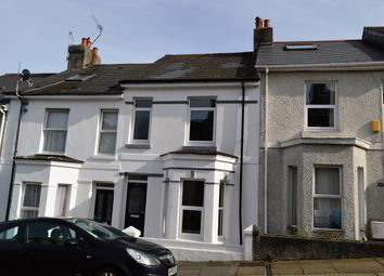 Thumbnail 3 bed terraced house to rent in West Hill Road, Mutley, Plymouth