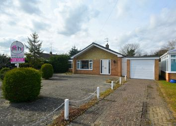 Thumbnail 3 bed detached bungalow for sale in Dryden Close, St. Ives, Cambridgeshire