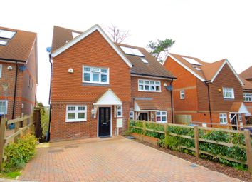 Thumbnail 4 bed semi-detached house to rent in Tupwood Gardens, Caterham