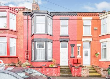 Thumbnail 4 bed terraced house for sale in Willmer Road, Tranmere, Birkenhead