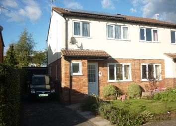 Thumbnail 3 bed semi-detached house to rent in Dowsland Way, Taunton