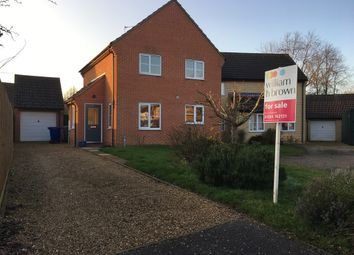Thumbnail 4 bedroom detached house for sale in Culvers Meadow, Stanton, Bury St. Edmunds