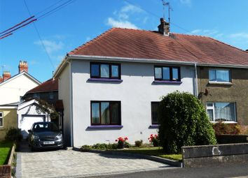 Thumbnail 3 bed semi-detached house for sale in Lon Hywel, Whitland, Sir Gaerfyrddin