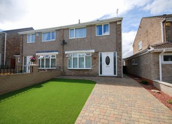 Thumbnail 3 bed semi-detached house for sale in Cedarway, Gateshead