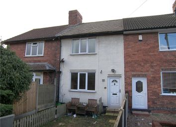 Thumbnail 2 bed terraced house for sale in Pool Close, Pinxton, Nottingham