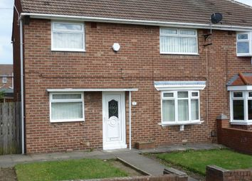 Thumbnail 3 bed semi-detached house to rent in Galashiels Road, Sunderland