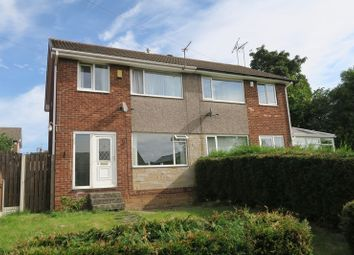 Thumbnail 3 bedroom semi-detached house to rent in Topcliffe Court, Morley, Leeds