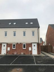 Thumbnail 3 bed terraced house to rent in Emerald Close, Hartlepool