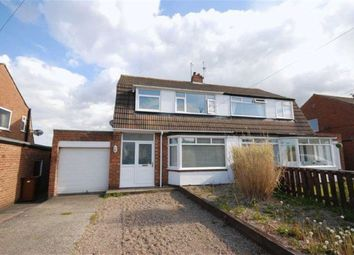Thumbnail 3 bed semi-detached house to rent in Caldwell Road, Fawdon, Newcastle Upon Tyne