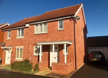 Thumbnail 3 bed semi-detached house to rent in Mayfield Way, Cranbrook, Exeter