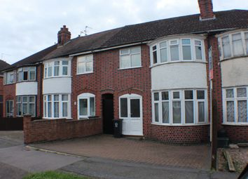 Thumbnail 3 bedroom terraced house to rent in Lymington Road, Leicester