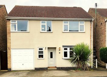 Thumbnail 5 bed detached house for sale in Oakfield Crescent, Blaby, Leicester