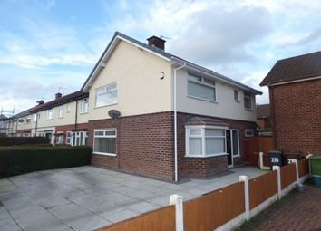 Thumbnail 3 bed semi-detached house to rent in Moorhey Road, Maghull, Liverpool