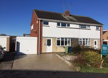Thumbnail 3 bed semi-detached house to rent in School Road, Eccleshall, Staffordshire