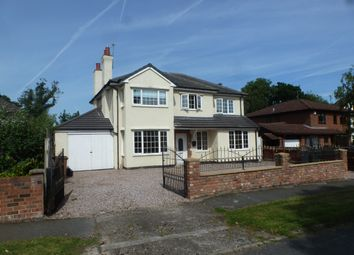Thumbnail 4 bed detached house to rent in Uplands Road, Bromborough, Wirral, CH 62
