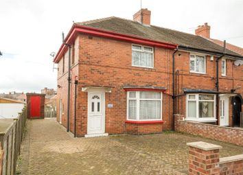 Thumbnail 3 bedroom end terrace house for sale in Dodsworth Avenue, York