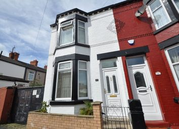 Thumbnail 3 bed end terrace house for sale in Bridle Road, Wallasey