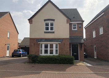 Thumbnail 3 bed detached house to rent in Arlington Close, Leicester
