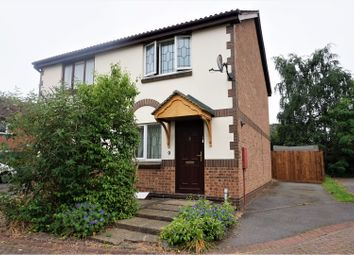 Thumbnail 2 bed semi-detached house for sale in Holland Close, Coalville