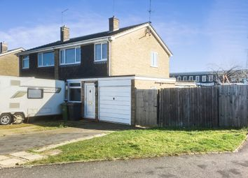 Thumbnail 3 bedroom semi-detached house for sale in Robert Rayner Close, Orton Longueville, Peterborough