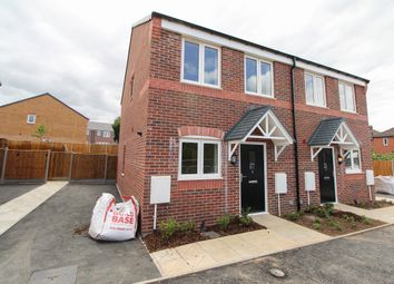 Thumbnail 2 bed semi-detached house for sale in Carlyle Road, Stonebroom, Alfreton