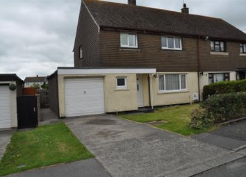 Thumbnail 3 bed property to rent in Dinam Road, Caergeiliog, Holyhead