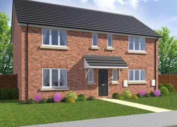 "Thumbnail 4 bedroom detached house for sale in ""The Hayden"" at Burwell Road, Exning, Newmarket"