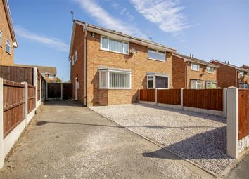 Thumbnail 2 bed semi-detached house for sale in Manly Close, Top Valley, Nottinghamshire