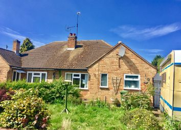 Thumbnail 2 bed semi-detached bungalow for sale in The Fairway, Blaby, Leicester