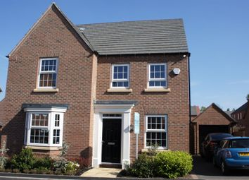 Thumbnail 4 bed detached house for sale in Rowan Road, Glenfield, Leicester