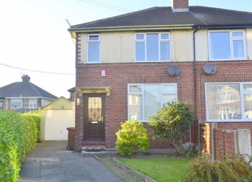 Thumbnail 2 bed semi-detached house for sale in Hazel Grove, Meir, Staffordshire