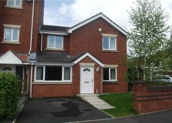 Thumbnail 3 bedroom end terrace house to rent in 2 Alderley Way, Stockport, Cheshire, England