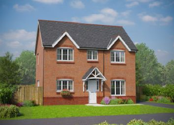 Thumbnail 4 bedroom detached house for sale in The Meliden, Holmes Chapel Road, Congleton, Cheshire