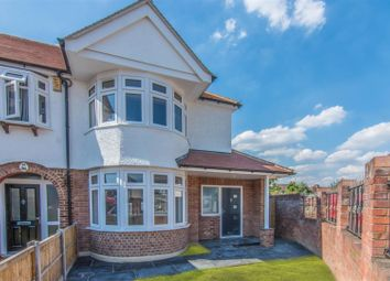 Thumbnail 3 bed end terrace house for sale in Chatsworth Drive, Bush Hill Park, Enfield