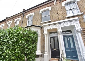 Thumbnail 3 bed terraced house to rent in Brodia Road, Stoke Newington, London