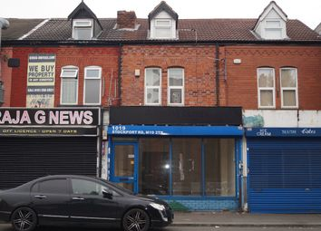 Thumbnail Retail premises for sale in Stockport Road, Levenshulme