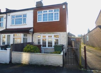 Thumbnail 2 bed end terrace house for sale in London, Walthamstow, London