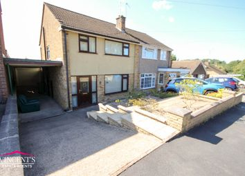 Thumbnail 3 bed semi-detached house for sale in Woodcote Road, Leicester