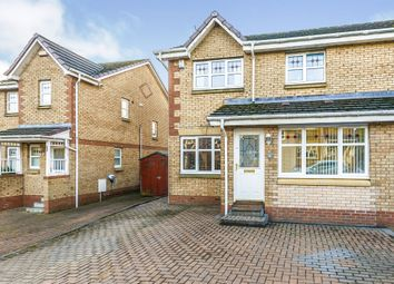 Thumbnail 3 bedroom semi-detached house for sale in Perrays Grove, Dumbarton