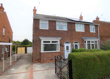 Thumbnail 3 bed semi-detached house for sale in Strawberry Road, Retford