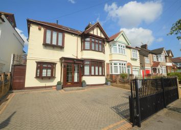 Thumbnail 5 bed semi-detached house for sale in Exeter Gardens, Cranbrook, Ilford