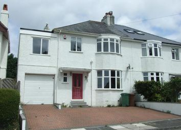 Thumbnail 5 bedroom semi-detached house for sale in Plymouth, Devon