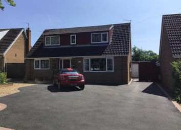 Thumbnail 3 bed detached house for sale in Yew Tree Drive, Bayston Hill, Shrewsbury